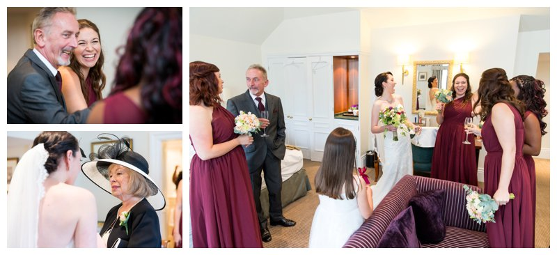 North London Hendon Hall Wedding Photography Timeless Bridal Prep