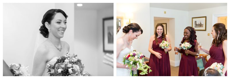 North London Hendon Hall Wedding Photography Bridal Party