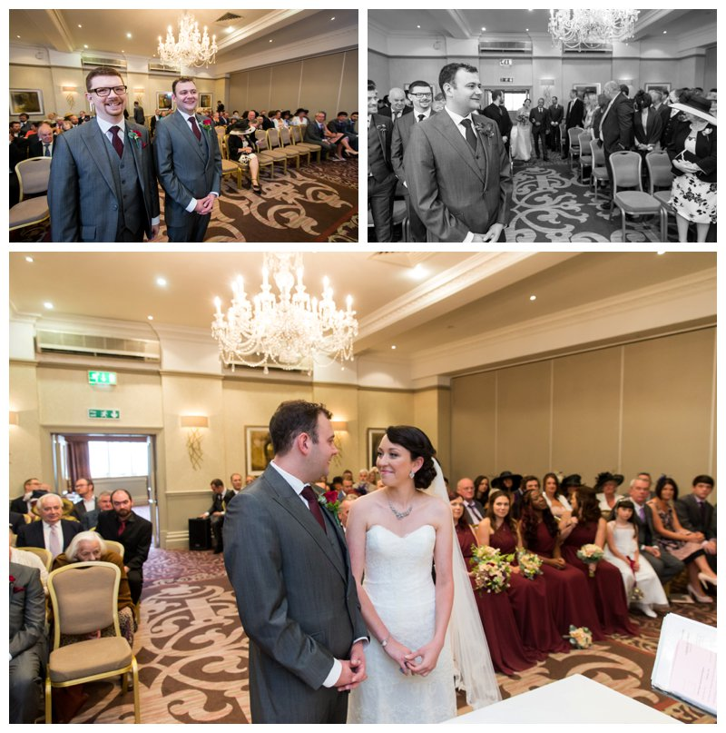 North London Hendon Hall Wedding Photography Ceremony