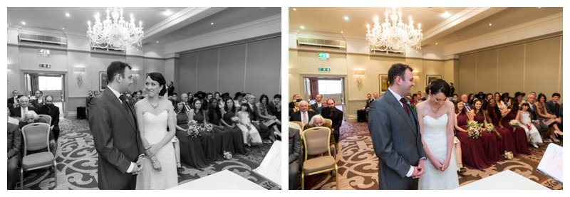North London Hendon Hall Wedding Photographer Ceremony