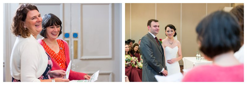 Great North London Hendon Hall Wedding Photographer Ceremony