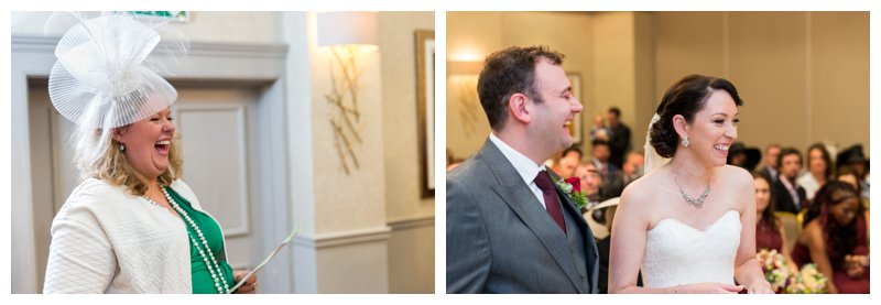 Great North London Hendon Hall Wedding Photography Ceremony