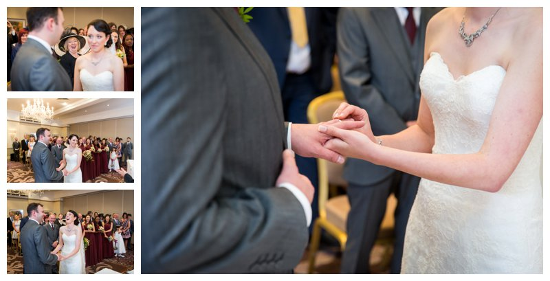 Top North London Hendon Hall Wedding Photographer Ceremony