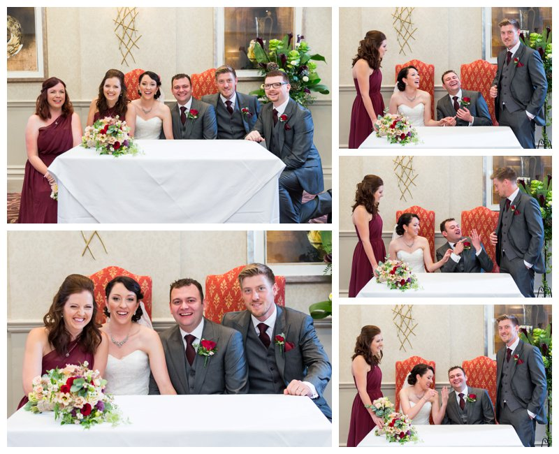 Brilliant North London Hendon Hall Wedding Photography Ceremony