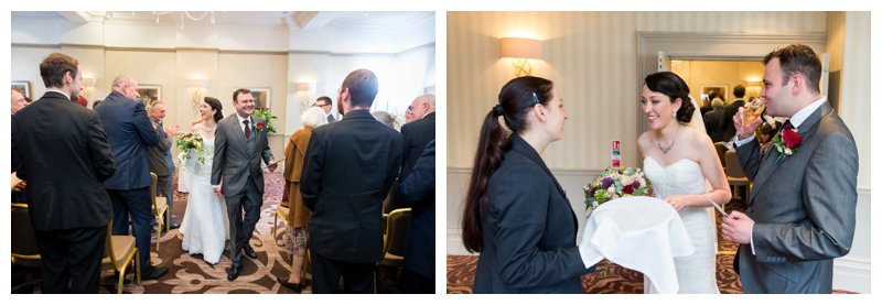Brilliant North London Hendon Hall Wedding Photographer Ceremony
