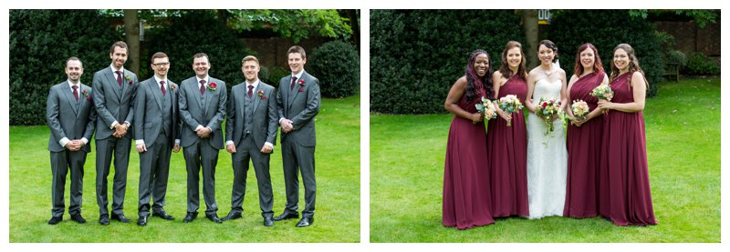 Excellent North London Hendon Hall Wedding Photographer