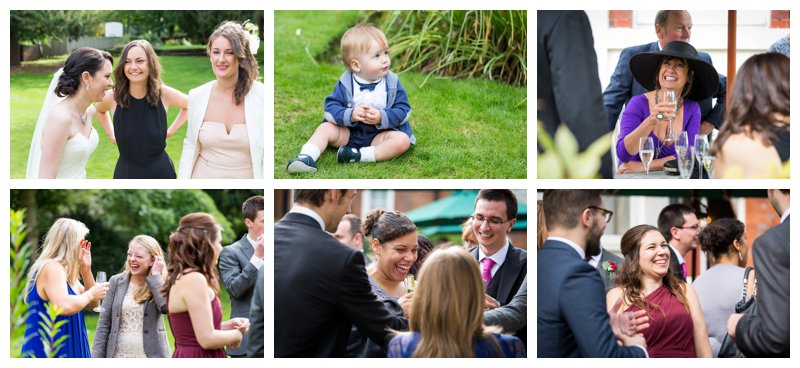 Excellent North London Hendon Hall Wedding Photography