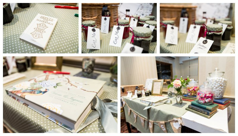 Wedding Gift Table Ideas North London Hendon Hall Wedding Photographer