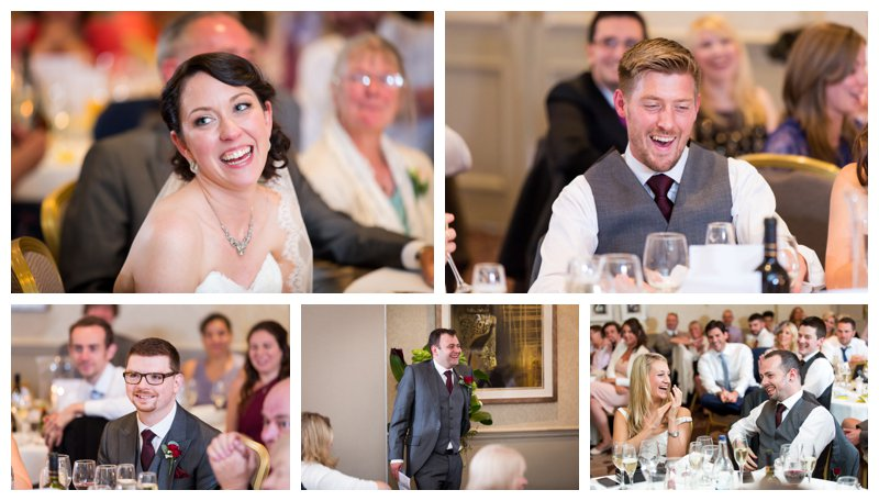 Reportage North London Hendon Hall Wedding Photographer