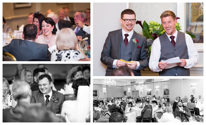 Wedding Speeches North London Hendon Hall Wedding Photographer