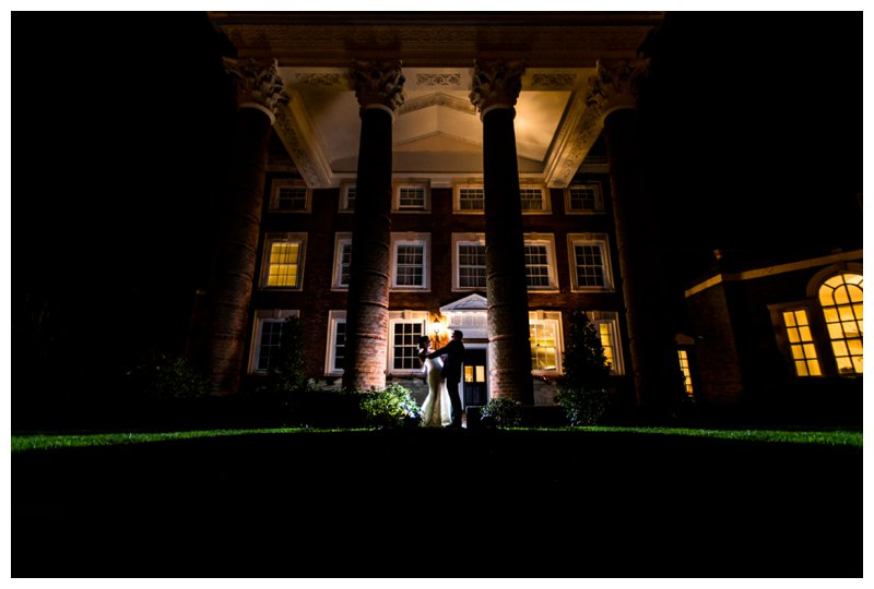 Night Time North London Hendon Hall Wedding Photography