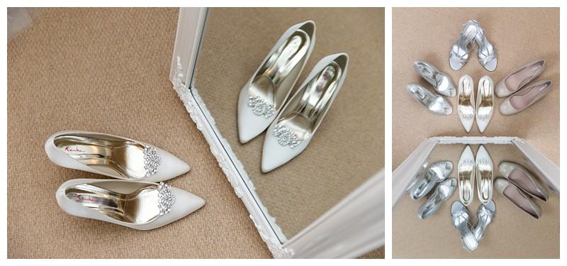Best Kent Wedding Cooling Castle Bridal Prep Shoes