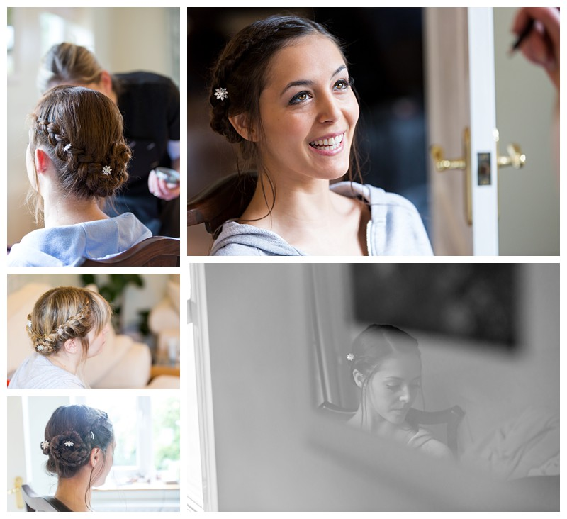 Best Kent Wedding Photographer Bridal Hair