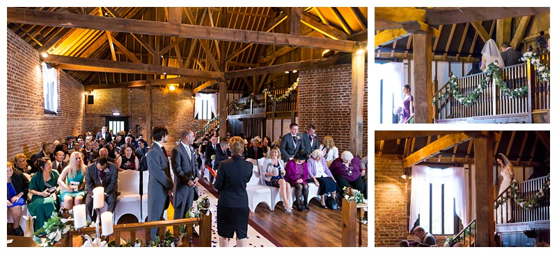 Best Kent Wedding Photographer Cooling Castle Barn Ceremony