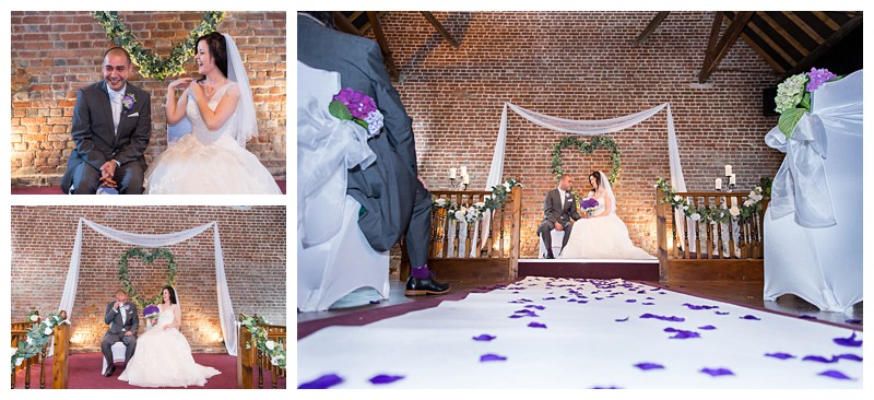 Great Kent Wedding Photographer Cooling Castle Barn Ceremony