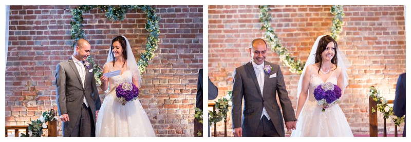 Awesome Kent Wedding Photographer Cooling Castle Barn Ceremony