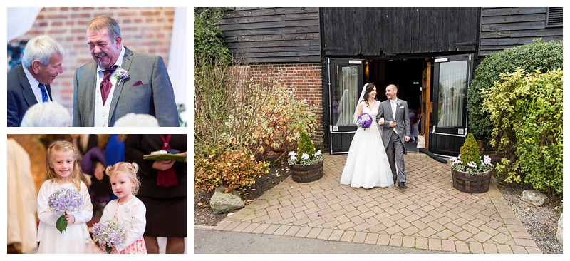 Amazing Kent Wedding Photographer Cooling Castle Barn Ceremony