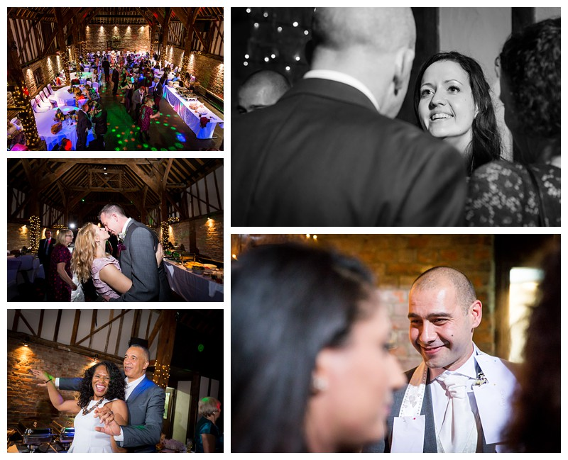 Natural Kent Wedding Photography Cooling Castle Barn Pinning Money on the Dress