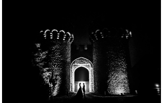 Best Kent Wedding Photographer Cooling Castle Night