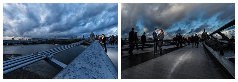 Fashion Inspired London Engagement Photography
