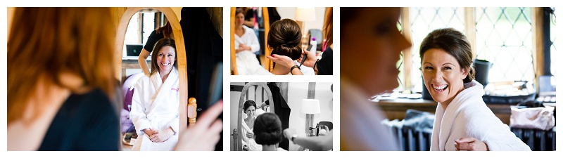 Bridal Prep Best Surrey Wedding Photographer Cain Manor