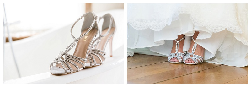 Bridal Shoes Best Surrey Wedding Photographer Cain Manor_0046