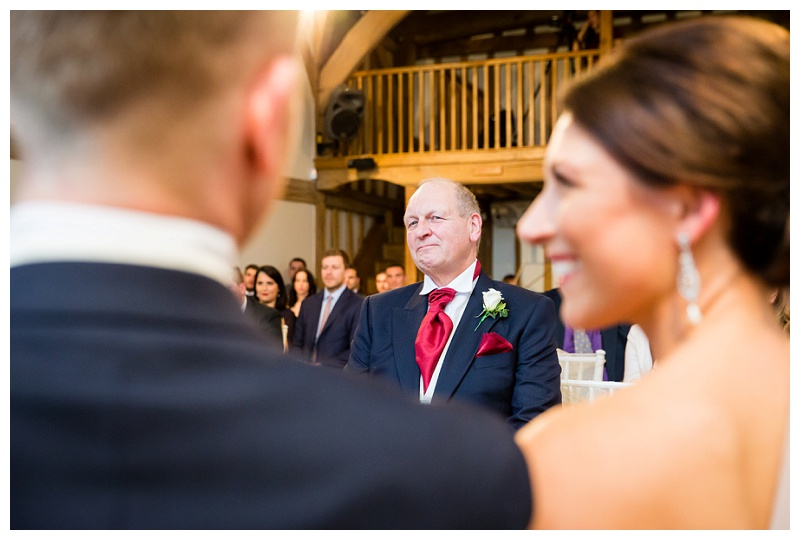 Proud Father of the Bride - Surrey Wedding