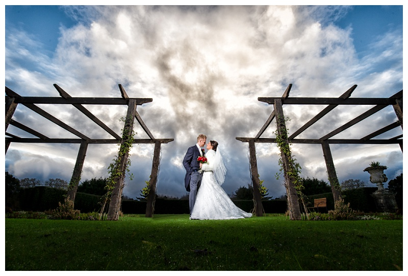 Dramatic Skies at a Cain Manor Wedding