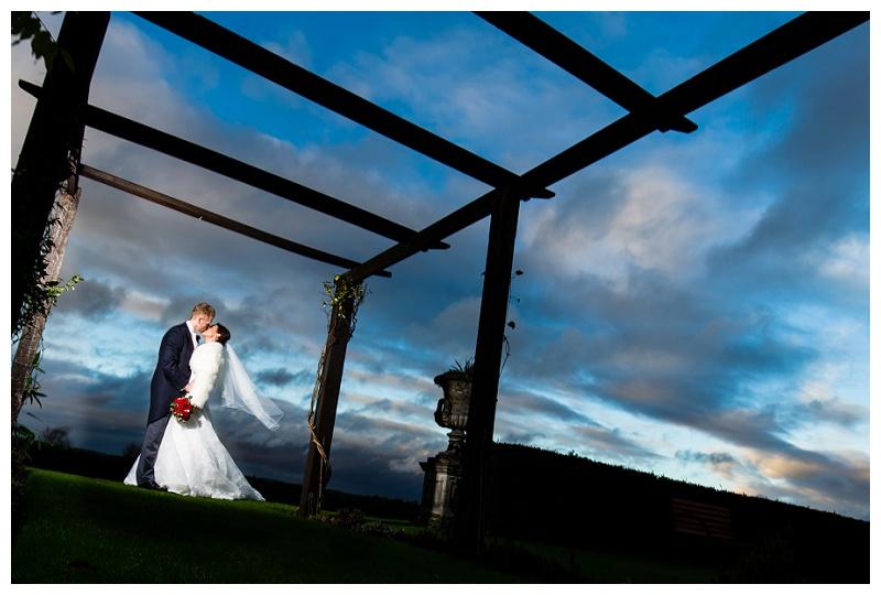 Secret Kiss at Surrey Wedding