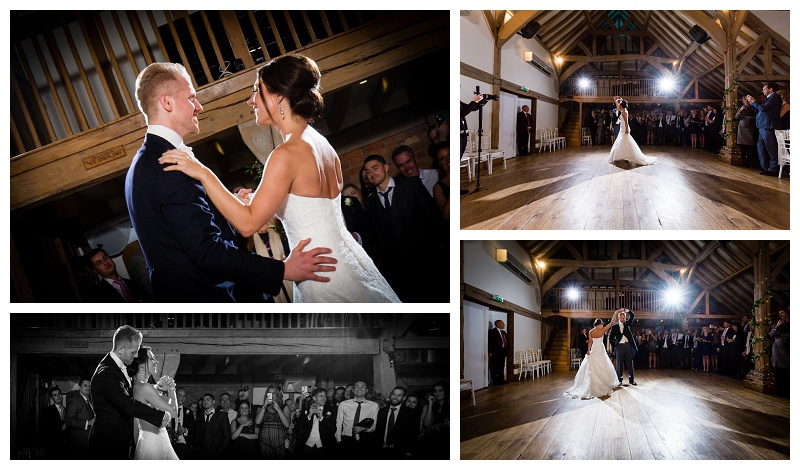 Fabulous First Dance at Surrey Wedding