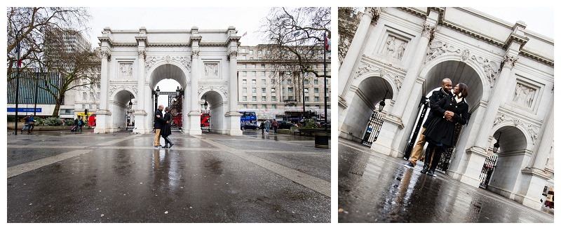 London Engagement Photographer Marble Arch