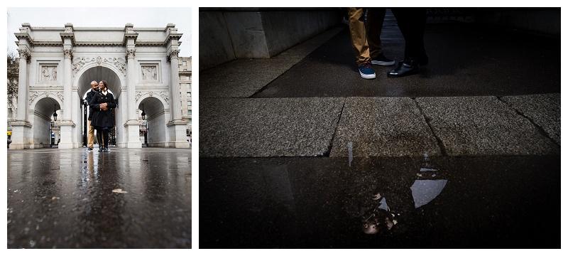 Best London Engagement Photographer Marble Arch
