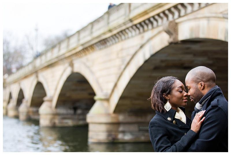 Beautiful London Engagement Photographer Hyde Park