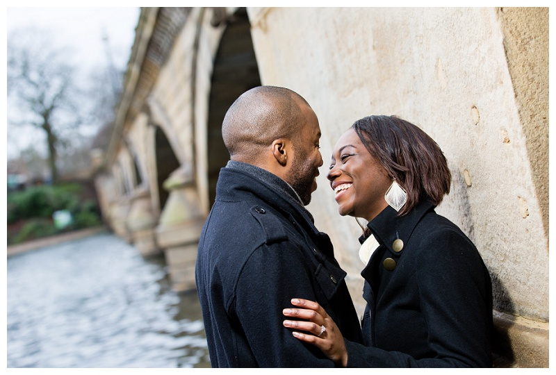 Fun Engagement Photographer in London Hyde Park