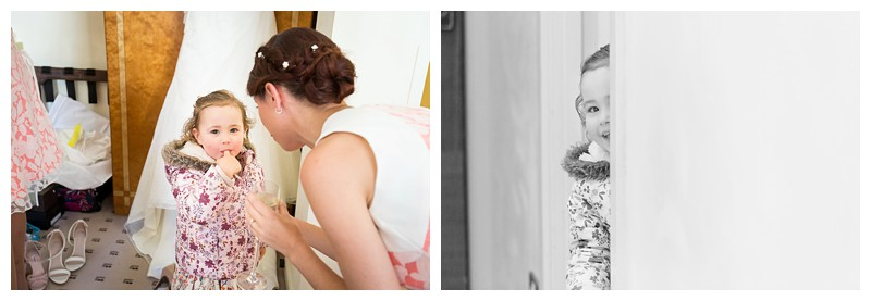 Top London Wedding Photographer Lansdowne Club Flowergirl