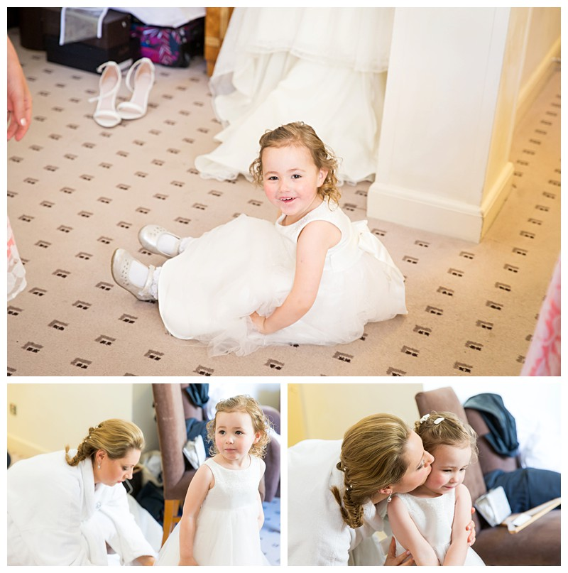 Top London Wedding Photographer Lansdowne Club Beautiful Flowergirl