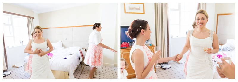 Top London Wedding Photographer Lansdowne Club Bridal finishing touches