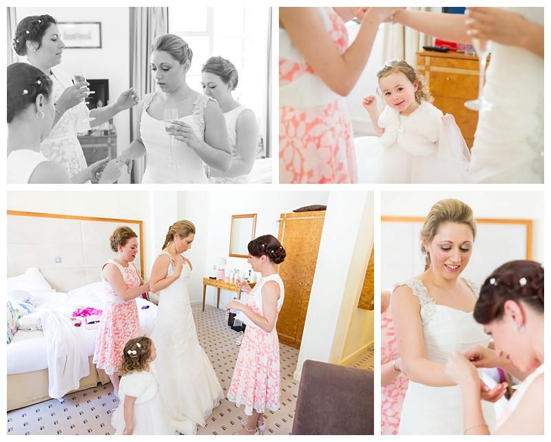 Top London Wedding Photographer Lansdowne Club Bridal Party