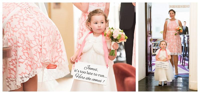 Top London Wedding Photographer Lansdowne Club Bridal Procession
