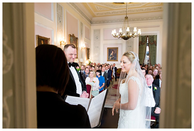 Lansdowne Club Wedding Photographer London Wedding Ceremony