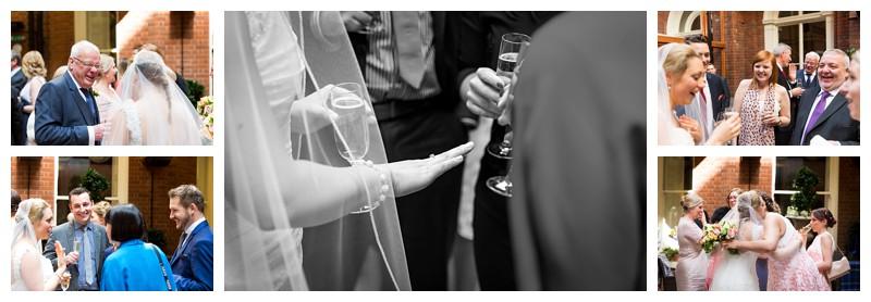 Best London Wedding Photographer Lansdowne Club Champagne Reception