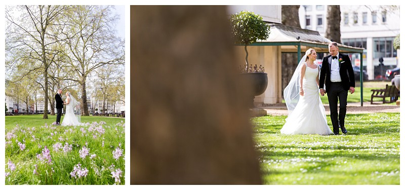 Beautiful Wedding Photography Lansdowne Club Stunning Couples Portrait Berkeley Square Gardens