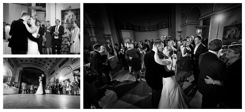 Elegant Wedding Photography Lansdowne Club First Dance