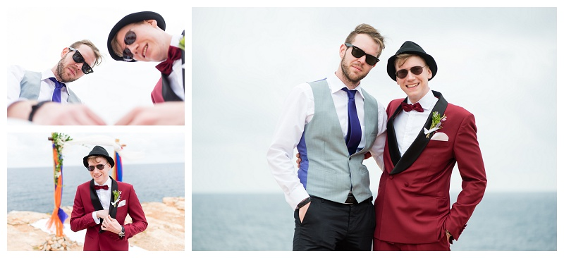 Destination Wedding Photographer Ibiza Clifftop