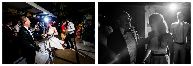Destination Wedding Photographer Ibiza Vintage Father Daughter Dance