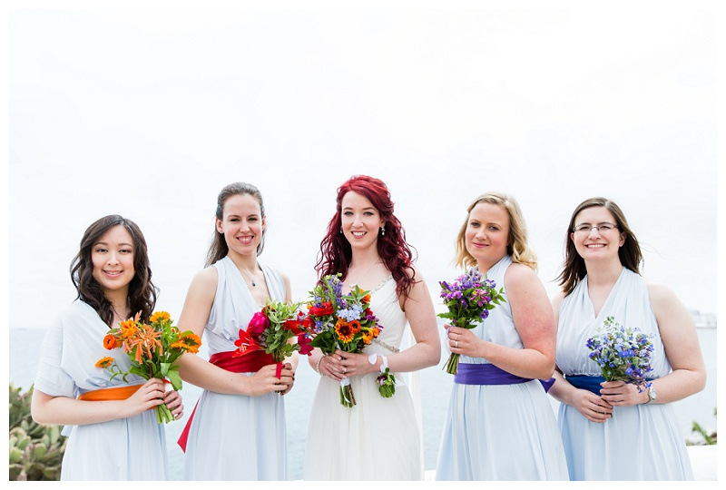 Destination Wedding Photographer Ibiza Bridal Party