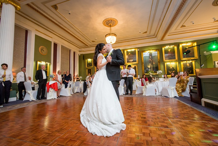 institute of directors wedding photographer beautiful first dance