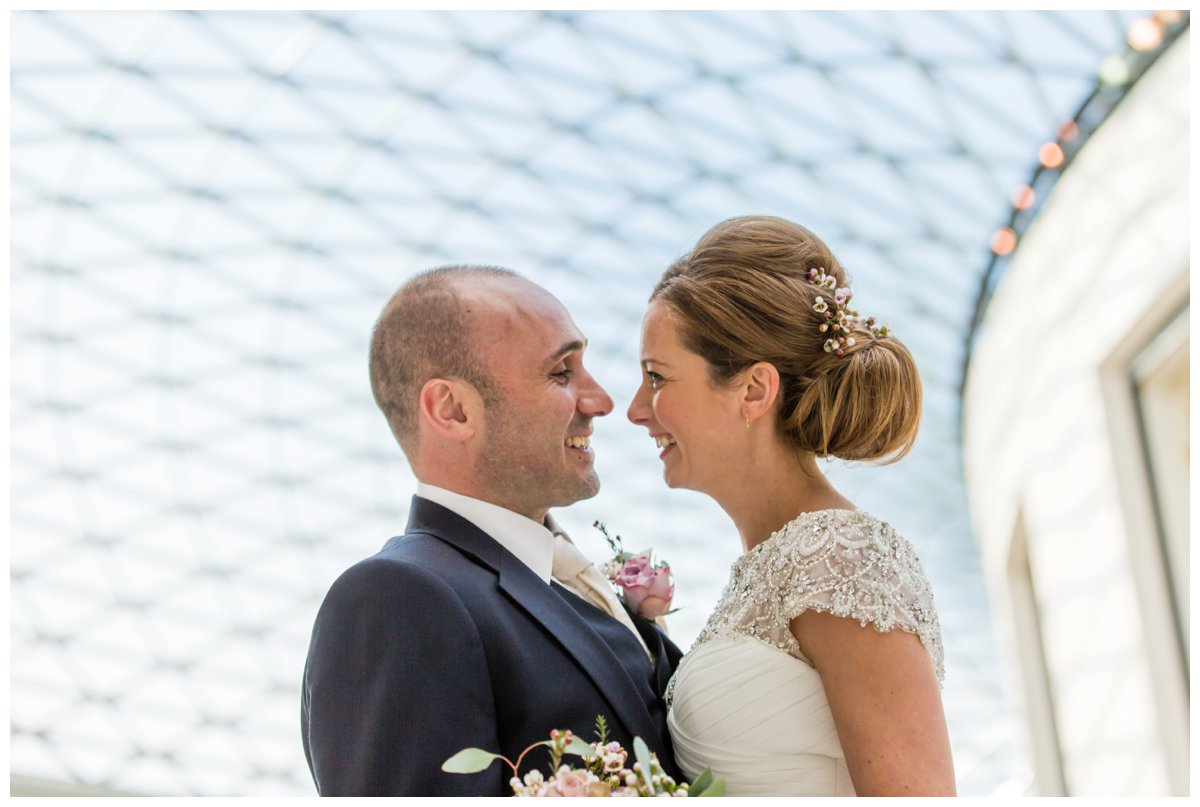 British Museum - Wedding Day