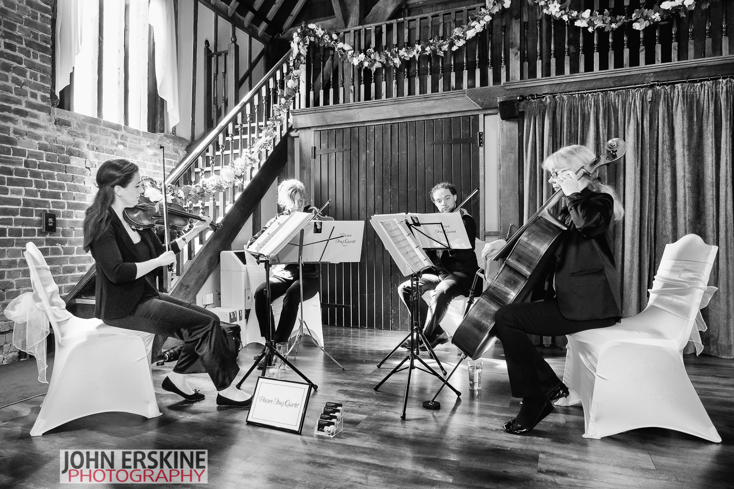 Start the Classical Music Piacere String Quartet Kent Wedding