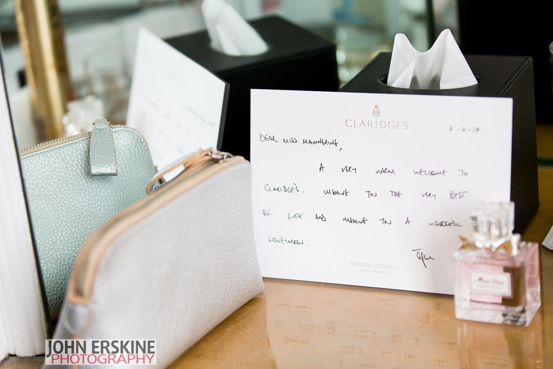 Claridges Wedding Photographer Mayfair Wedding Details